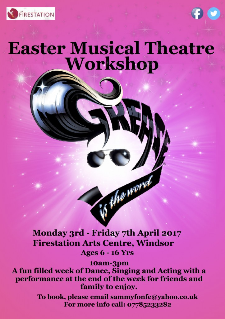 grease workshop flier copy sota